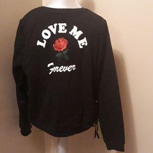 Love Me Forever Black Top